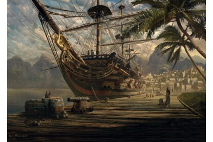 Schmidt 58183 - Ship at ancor - 1000 db-os puzzle