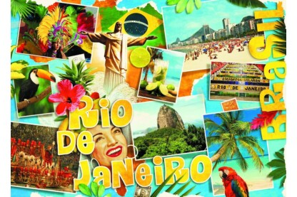 Schmidt 58185 - Rio de Janeiro - 3000 db-os puzzle