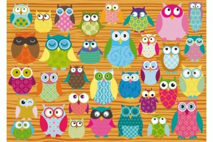 Schmidt 58196 - Owls - 500 db-os puzzle