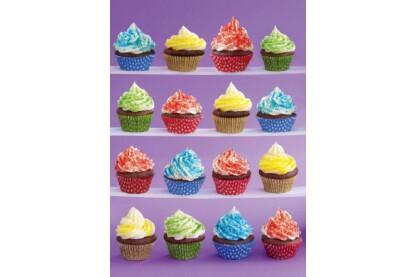 Schmidt 58217 - Cupcakes - 1000 db-os puzzle
