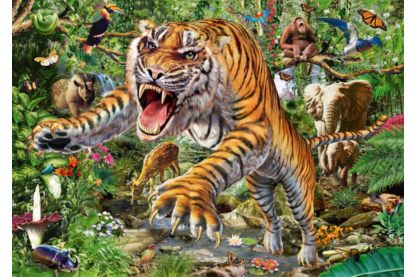 Schmidt 58226 - Tiger Angriff - 500 db-os puzzle