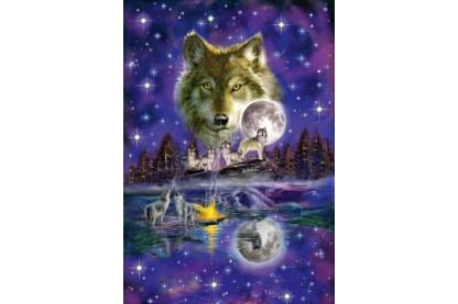 Schmidt 58233 - Wolf im Mondlicht - 1000 db-os puzzle