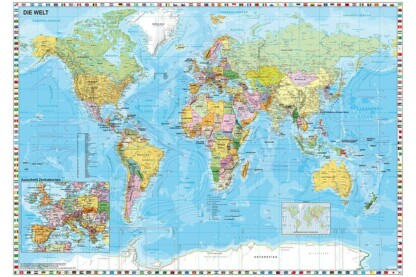 Schmidt 58289 - The World - 1500 db-os puzzle