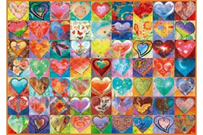 Schmidt 58295 - Heart to Heart - 1000 db-os puzzle
