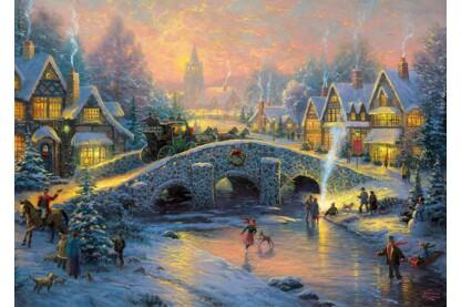 Schmidt 58450 - Spirit of Christmas, Kinkade - 1000 db-os puzzle