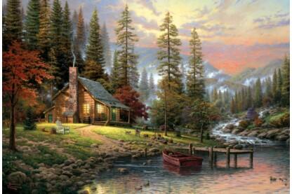 Schmidt 58455 - A Peaceful Retreat - 500 db-os puzzle