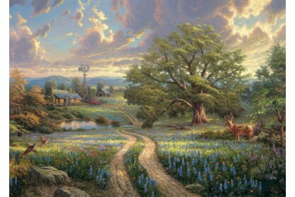 Schmidt 58461 - Country Living, Thomas Kinkade - 1000 db-os puzzle