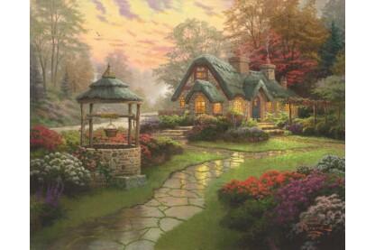 Schmidt 58463 - Make a Wish Cottage, Thomas Kinkade - 1000 db-os puzzle