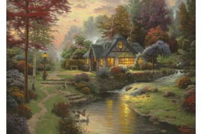 Schmidt 58464 - Stillwater Cottage, Thomas Kinkade - 1000 db-os puzzle