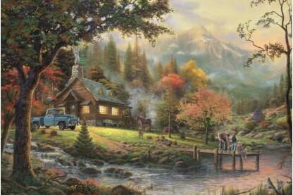 Schmidt 58465 - Peaceful Moment, Thomas Kinkade - 500 db-os puzzle