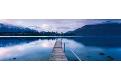 Schmidt 59291 - Panoráma puzzle - Lake Wakatipu, New Zealand, Mark Gray - 1000 db-os puzzle