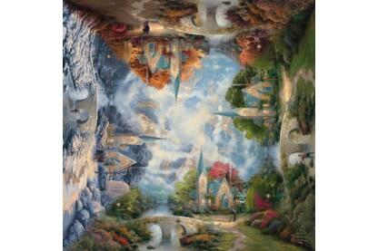 Schmidt 59295 - The mountain chapel, Thomas Kinkade - 1000 db-os puzzle
