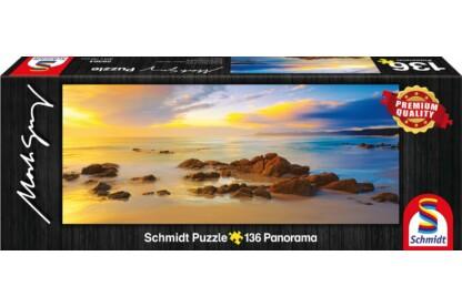 Schmidt 59364 - Mini Panoráma puzzle - Friendly Beaches, Australia, Mark Gray - 136 db-os puzzle