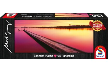 Schmidt 59365 - Mini Panoráma puzzle - Canning River, Australia, Mark Gray - 136 db-os puzzle