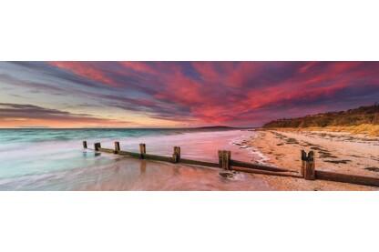Schmidt 59395 - Panoráma puzzle - McCrae Beach, Australia, Mark Gray - 1000 db-os puzzle