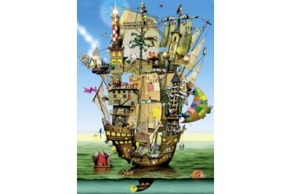 Schmidt 59403 - Noah's ark, Colin Thompson - 1000 db-os puzzle