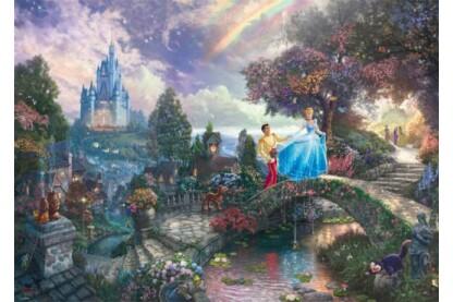 Schmidt 59472 - Disney - Cinderella, Kinkade - 1000 db-os puzzle