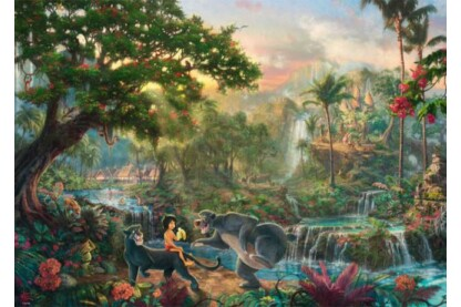 Schmidt 59473 - Disney - The Jungle Book, Kinkade - 1000 db-os puzzle