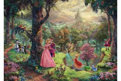 Schmidt 59474 - Disney - Sleeping Beauty, Kinkade - 1000 db-os puzzle