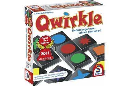 Schmidt Qwirkle - Formák, színek, kombinációk! társasjáték (88144)