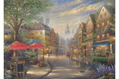 Schmidt 59675 - Café in Munich - 1000 db-os puzzle