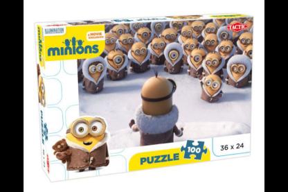Tactic 53103 - Minyonok - Jégkorszak  - 100 db-os puzzle