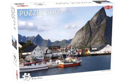 Tactic 56642 - A világ körül - Lofoten, Norvégia - 500 db-os puzzle