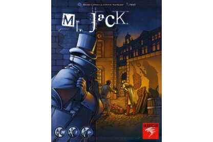 Mr. Jack in London társasjáték (001040)