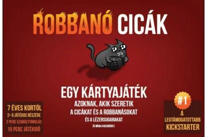 Robbanó cicák társasjáték (057970)