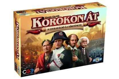 Korokon át - A civilizáció új története társasjáték (750116)