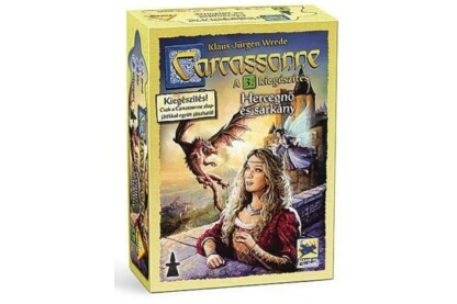 Carcassonne 3. kiegészítő - Hercegnő és sárkány (794698)