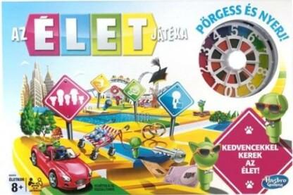 Hasbro - Az élet játéka társasjáték (E4304)
