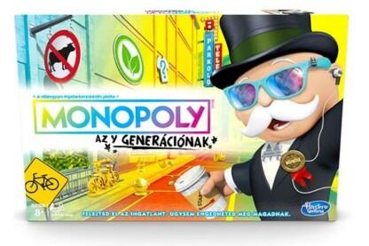 Hasbro - Monopoly az Y generációnak társasjáték