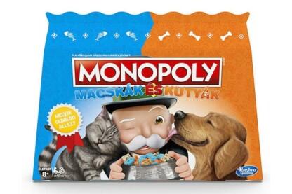 Hasbro - Monopoly Macskák és Kutyák társasjáték