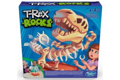 Hasbro - T-Rex Rocks társasjáték