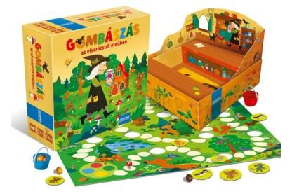Gombászás - az elvarázsolt erdőben társasjáték (032161)