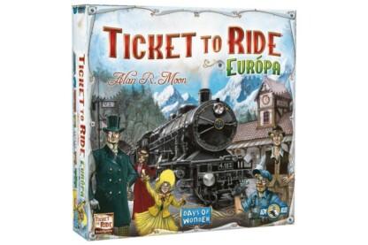 Ticket to Ride Európa társasjáték (750055)