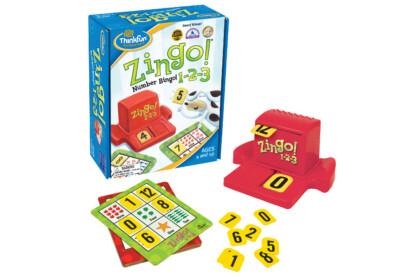 Thinkfun 7703 - Zingo! 1-2-3 társasjáték
