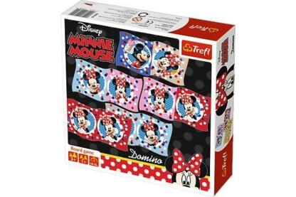 Trefl 01600 - Minnie Mouse dominó