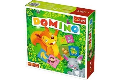 Trefl 01610 - Állatos dominó