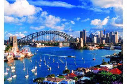 Trefl 10206 - Port Jackson, Sydney - 1000 db-os puzzle