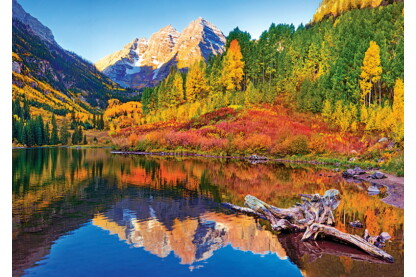 Trefl 10353 - Maroon-tó - Aspen, Colorado - 1000 db-os puzzle