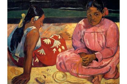 Trefl 10362 - Art puzzle - Paul Gauguin - Tahiti nők a tengerparton - 1000 db-os puzzle