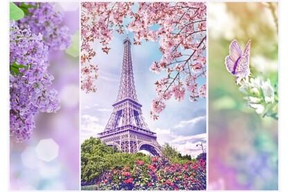Trefl 10409 - Romantic - Párizs - 1000 db-os puzzle