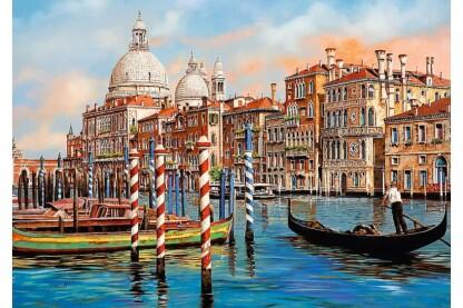 Trefl 10460 - Délután Velencében - 1000 db-os puzzle