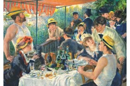 Trefl 10499 - Art puzzle - Renoir - Az evezősök reggelije - 1000 db-os puzzle