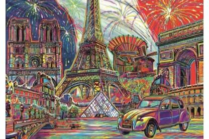 Trefl 10524 - Párizs színei - 1000 db-os puzzle
