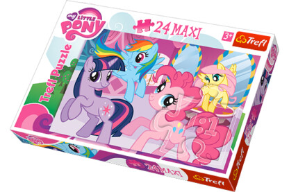 Trefl 14182 - My Little Pony - 24 db-os Maxi puzzle