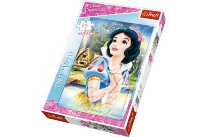 Trefl 14234 - Disney Princess - Ábrándozó Hófehérke - 24 db-os Maxi puzzle