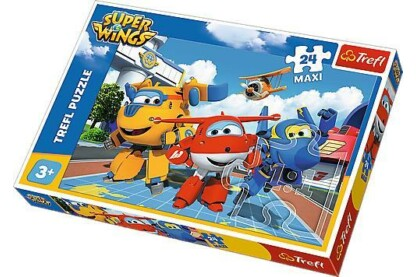 Trefl 14252 - Super Wings - 24 db-os Maxi puzzle